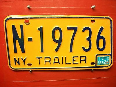 New York =1987 = Trailer   Plate = 666