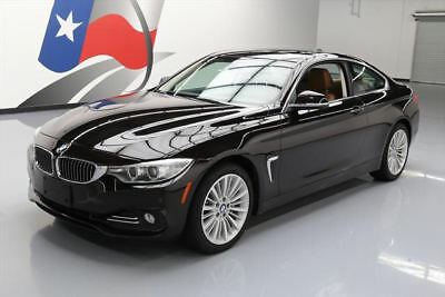 2014 BMW 4-Series Base Coupe 2-Door 2014 BMW 435I XDRIVE COUPE AWD LUX SUNROOF NAV HUD 26K #730027 Texas Direct Auto