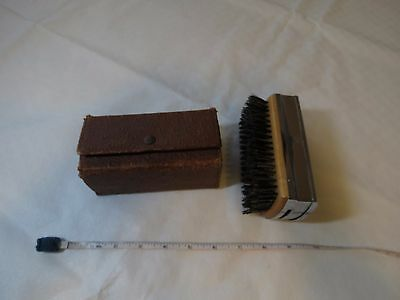 The Weekender RARE vintage grooming set brush L-3259 travel shaving mirror combo