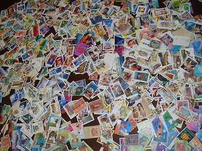 Australia Wholesale Off Paper Used Stamp Collection Lot Stock +6000 Stamps