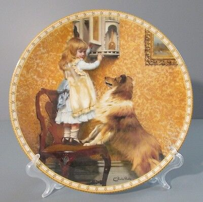 "1992 Royal Doulton A Victorian Childhood Series ""Say, Please!"" Collector Plate"