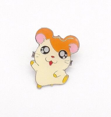 Anime Hamster Hamtaro Metal Pin Badge ~Brand New~ Clutch Backing~