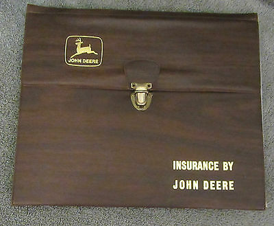 Vintage  - Collectible John Deere Insurance Portfolio ( Rare)