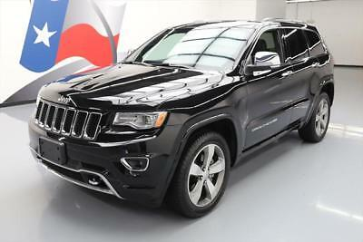 2015 Jeep Grand Cherokee Overland Sport Utility 4-Door 2015 JEEP GRAND CHEROKEE OVERLAND PANO SUNROOF NAV 17K #957532 Texas Direct Auto
