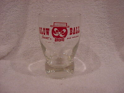 VINTAGE 1950's Squirt Glow Ball Squirt & Whiskey Glass,  SUPER COOL!!