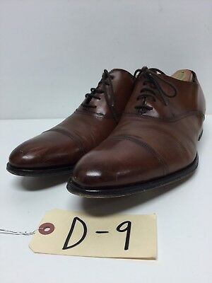 D9 To Boot New York Aidan Brown Leather Lace Up Oxford Men's Size 11 M