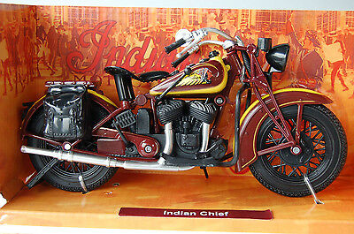 INDIAN SPORT SCOUT 1/12th  MODEL MOTORCYCLE