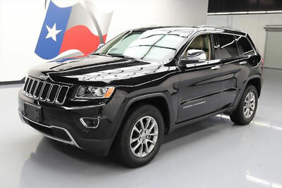 2014 Jeep Grand Cherokee Limited Sport Utility 4-Door 2014 JEEP GRAND CHEROKEE LTD NAV REAR CAM HTD SEATS 30K #573527 Texas Direct