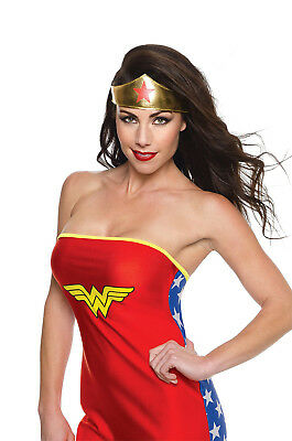 DC Comics Wonder Woman Costume Tiara Adult One Size