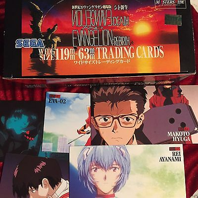 Evangelion Trading Cards From Japan!! 1997 Death Rebirth Unopened Pack Rare!!