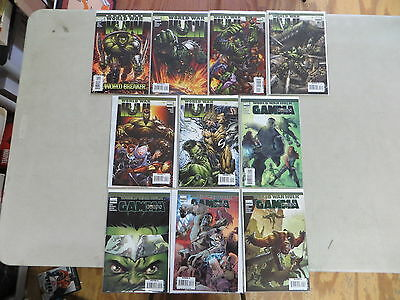 World War Hulk 10 Issue Comic Lo Set T 1-5 Complete Gamma Corps 1-4 Marvel