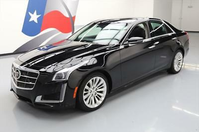 2014 Cadillac CTS Luxury Sedan 4-Door 2014 CADILLAC CTS 2.0T LUXURY AWD PANO ROOF NAV 44K MI #165401 Texas Direct Auto
