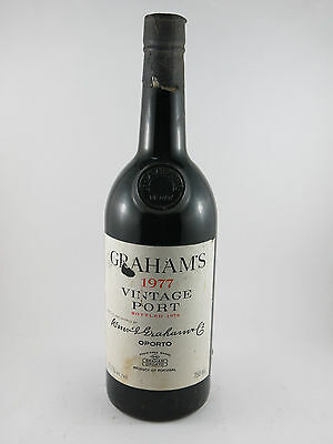 1977 Graham's Vintage Port Perfect 40th Birthday Gift #3