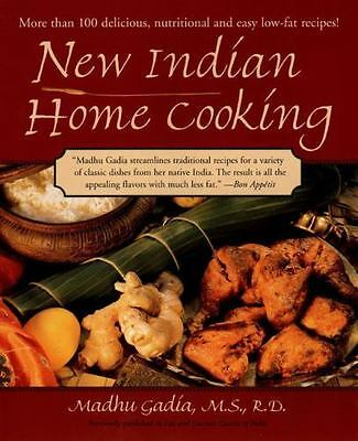 New Indian Home Cooking by Gadia, Madhu, Good Book