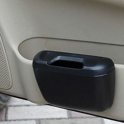 Portable Travel Car Trash Dustbin Garbage Rubbish Mini Bin Can Holder Case