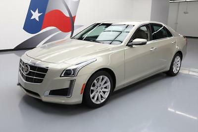 2014 Cadillac CTS Base Sedan 4-Door 2014 CADILLAC CTS 2.0T STANDARD TURBO BLUETOOTH 34K MI #153956 Texas Direct Auto