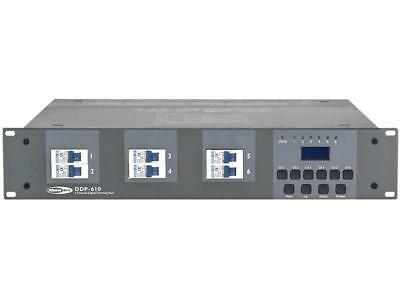 Showtec DDP-610S 6 Channel Dim Pack Schuko output