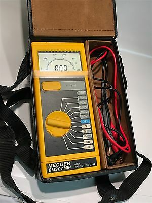 AVO MEGGER BM80/MIN INSULATION TESTER WITH CASE & LEADS NICE UNITS         fcf2a