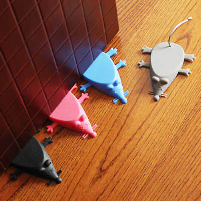 Lovely Mouse Shape Silicone Door Stop Wedge Jammer Stopper Home Decor Random