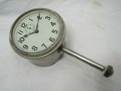 Vintage Auto Car Dashboard Clock Dash Board Automobile Boat