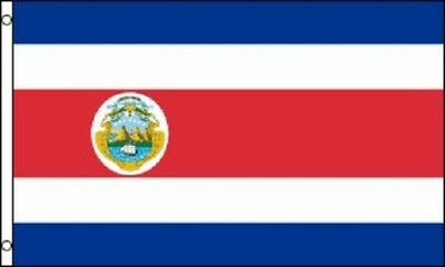 2x3 Costa Rica Flag Costa Rican Banner Pennant Bandera 24x36 inches New