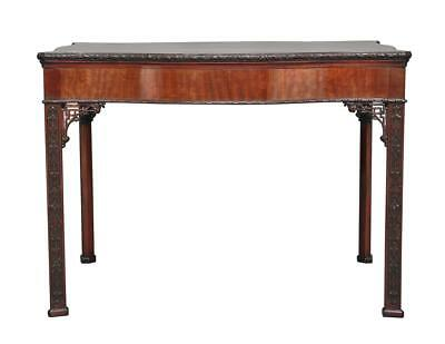 Early 20Th Century Chippendale Influenced Mahogany Center Table