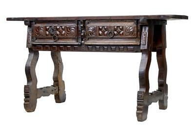 Late 17Th Century Spanish Walnut Side Table