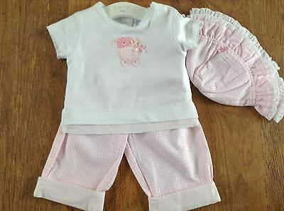 Coco  Baby Girls Summer Outfit 0-3Mths Nwt