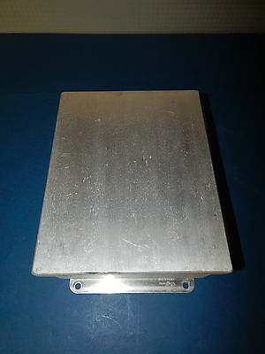 "Hoffman A1008CHAL Aluminum Enclosure Wall Mount 10""x8""x4"" Type 12, 13"