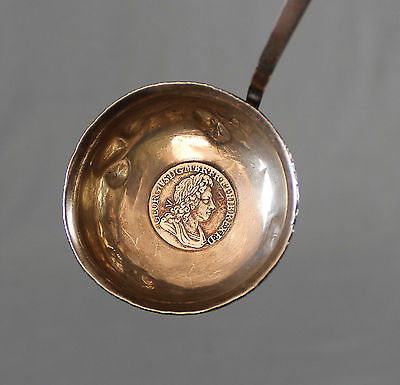 18th Century Silver Toddy Ladle