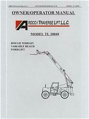 traverse forklift tl8040 parts manual 65 00 picclick rh picclick com Traverse Lift TL6035 Traverse 6035 Parts