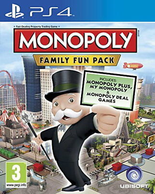 Monopoly Family Fun Pack (PS4) [New Game]