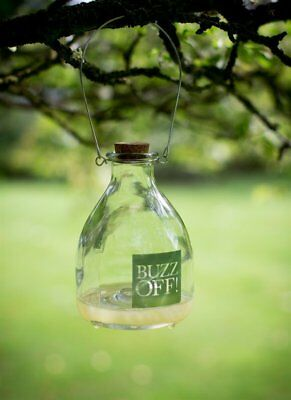 Wasp Catcher Trap Glass Bottle Traditional Hanging Bee Catcher Garden Honey Pot