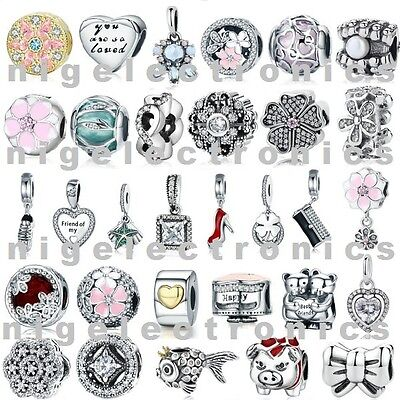 Authentic 925 Sterling Silver SPECIAL EDITION Charm Bead fit European Bracelet
