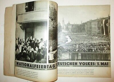 Berlin 1936 Reich Ministry Olympics Guide to hitlers germany 100 pages pre WWII