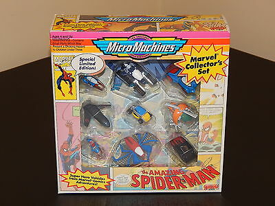 Micro Machines Marvel Collector's Set! Amazing Spider-Man! X-Men! MicroMachines!