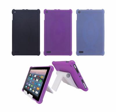"""TPU Case + Adjust Stand for New 2017 Amazon Fire 7"""" Tablet W/ Alexa (7th Gen)"""