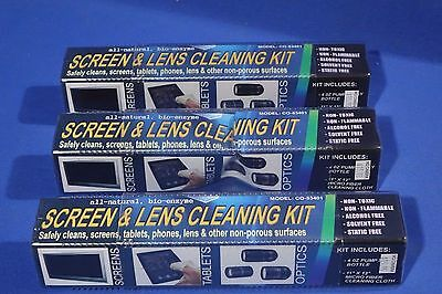 LOT of Screen and Lens Cleaning Kit #L1993BP