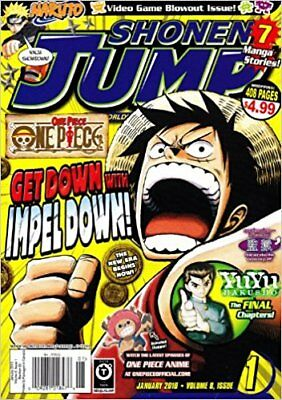 Shonen Jump - Get Down with Impeldown! January 2010, Vol. 8, Issue 1