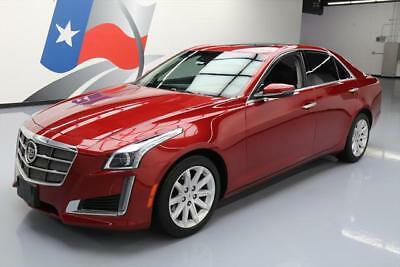 2014 Cadillac CTS Luxury Sedan 4-Door 2014 CADILLAC CTS 2.0T LUX PANO ROOF NAV REAR CAM 36K #142188 Texas Direct Auto