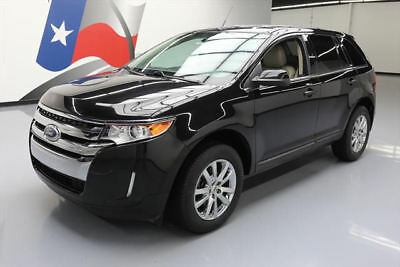 2014 Ford Edge Limited Sport Utility 4-Door 2014 FORD EDGE LTD HEATED LEATHER REARVIEW CAM 45K MI #A19484 Texas Direct Auto