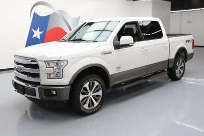 2015 Ford F-150  2015 FORD F150 KING RANCH CREW FX4 4X4 ECOBOOST NAV 32K #D12982 Texas Direct