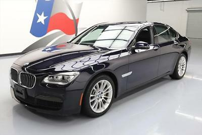 2015 BMW 7-Series  2015 BMW 750I XDRIVE AWD M-SPORT SUNROOF NAV HUD 22K MI #965792 Texas Direct