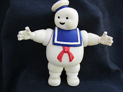 Vintage 1984 Ghostbusters Movie Stay Puft Marshmallow Man Toy Vinyl Doll