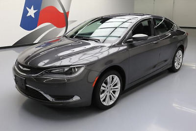 2015 Chrysler 200 Series  2015 CHRYSLER 200 LIMITED BLUETOOTH REAR CAM ALLOYS 13K #710832 Texas Direct