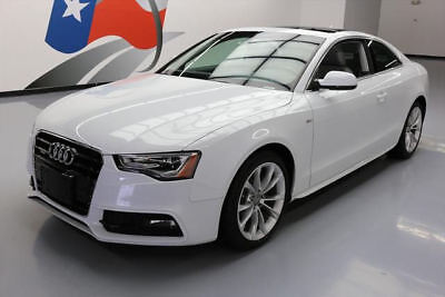 2014 Audi A5 Base Coupe 2-Door 2014 AUDI A5 2.0T PRESTIGE COUPE AWD SUNROOF NAV 23K MI #007365 Texas Direct