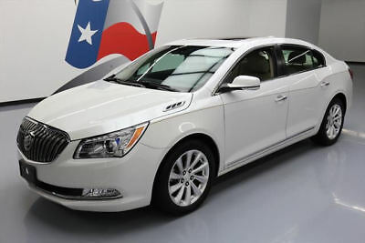 2015 Buick Lacrosse Leather Sedan 4-Door 2015 BUICK LACROSSE LEATHER PANO ROOF NAV REAR CAM 31K #162100 Texas Direct Auto
