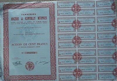 France 1963 Bond With 30 Coupons