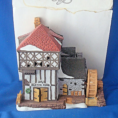 Dept 56 Blythe Pond Mill House 6508-0 Dickens Village Heritage Collection Christ