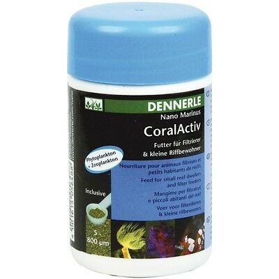 dennerle Nano Marinus CoralActive - 100 ml, planktonfutter